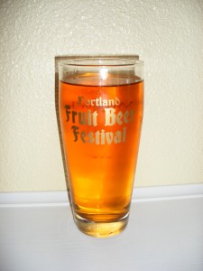 Fruit Beer Fest glass