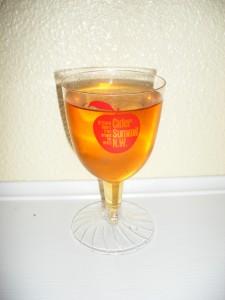 Cider Summit glass